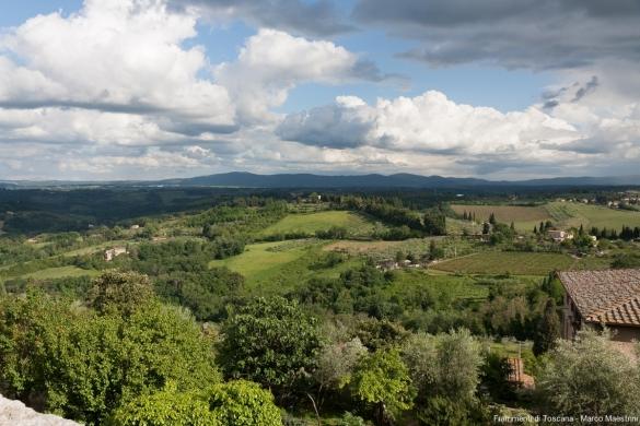 Panorama San Gimignano