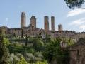San Gimignano - scorcio torri