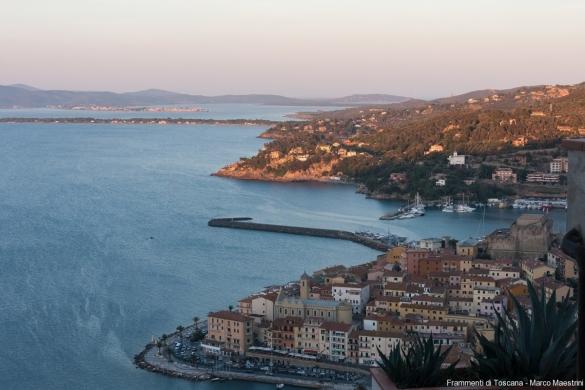 Vista di Porto Santo Stefano