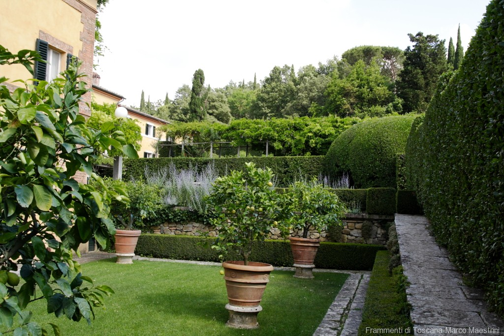 Giardino la Foce -il primo giardino