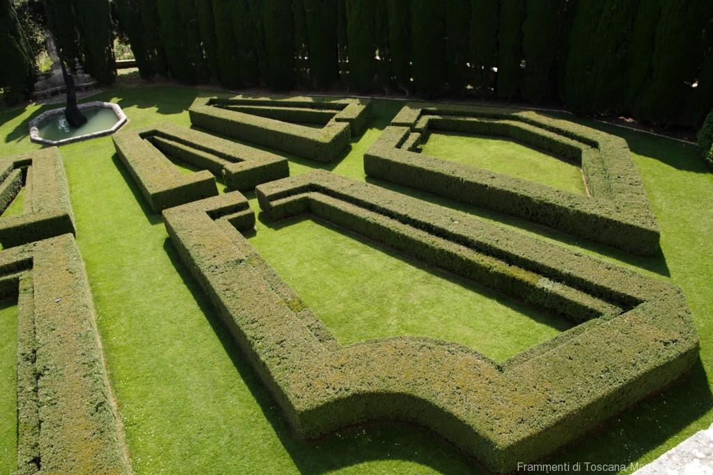 Giardino la Foce - giardino inferiore