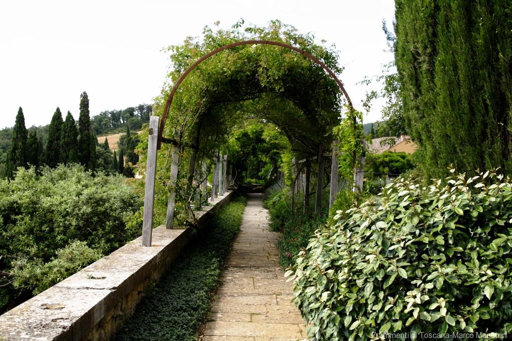 Giardino la Foce - giardino delle rose