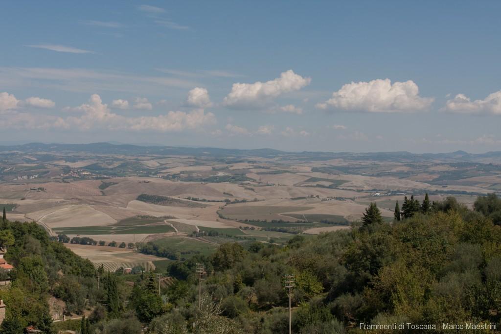 Vista della Valdorcia da Montalcino
