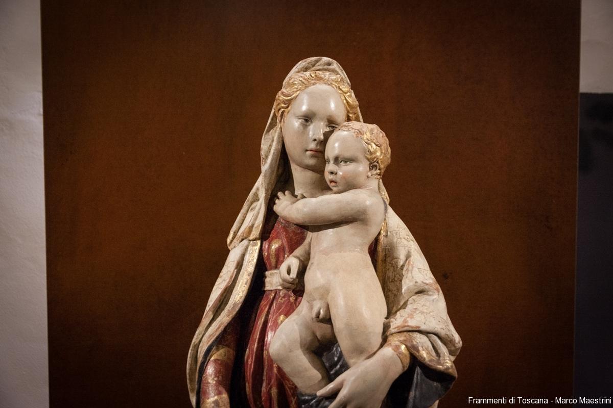 Madonna col bambino di Donatello