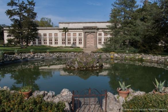 Villa Medicea di Poggio a Caiano - Il laghetto