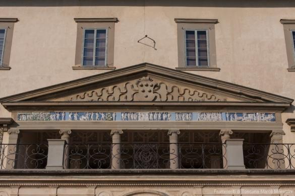 Villa Medicea di Poggio a Caiano - Il fregio
